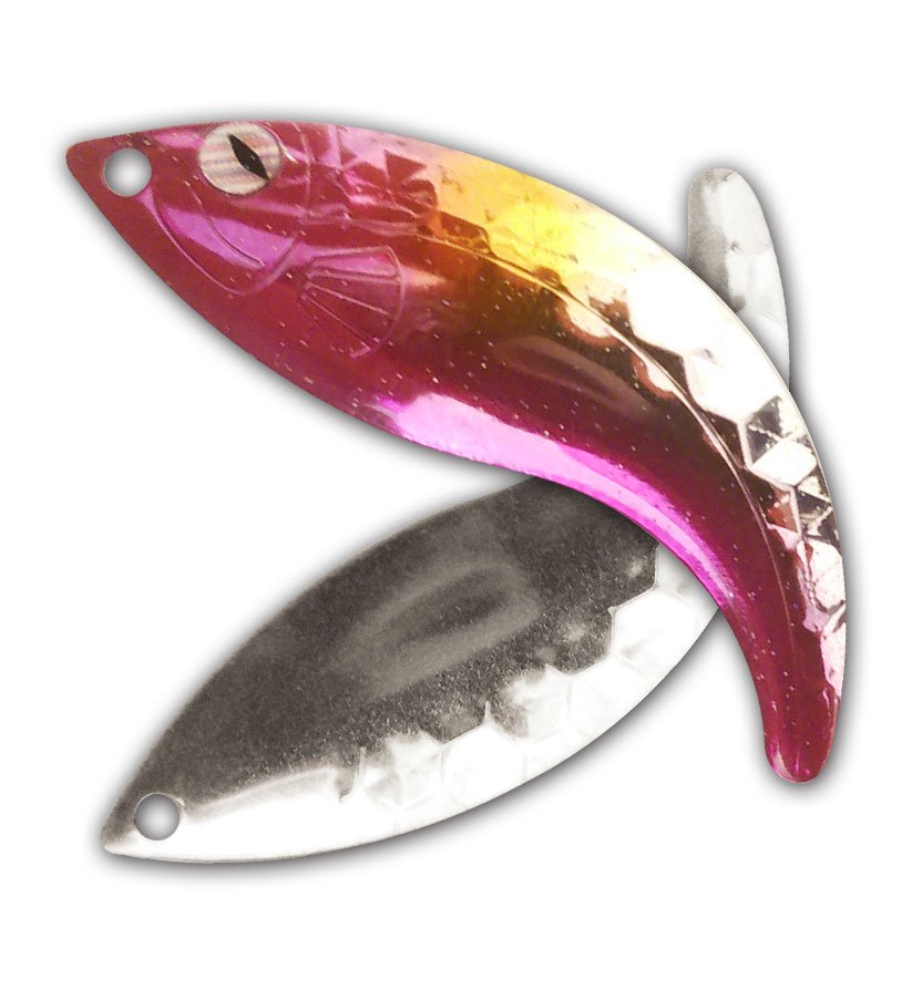 Pomegranate Nickel Hex Whip Tail Blade